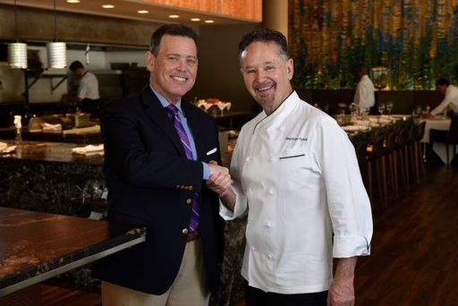 Chef Stephan Pyles and Ventana Executive Director